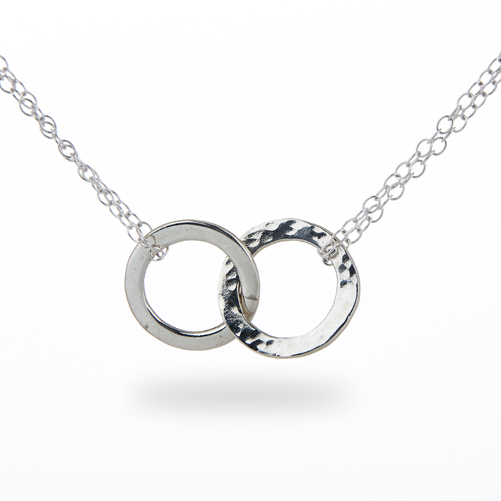 ring double century necklace silver twin products
