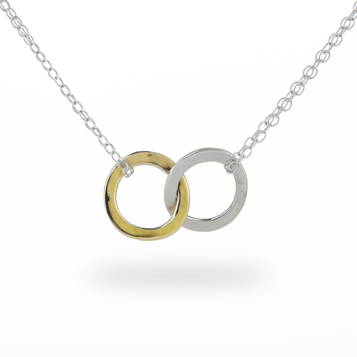 love promise forever price lover products couple large necklace double ring one necklaces piece